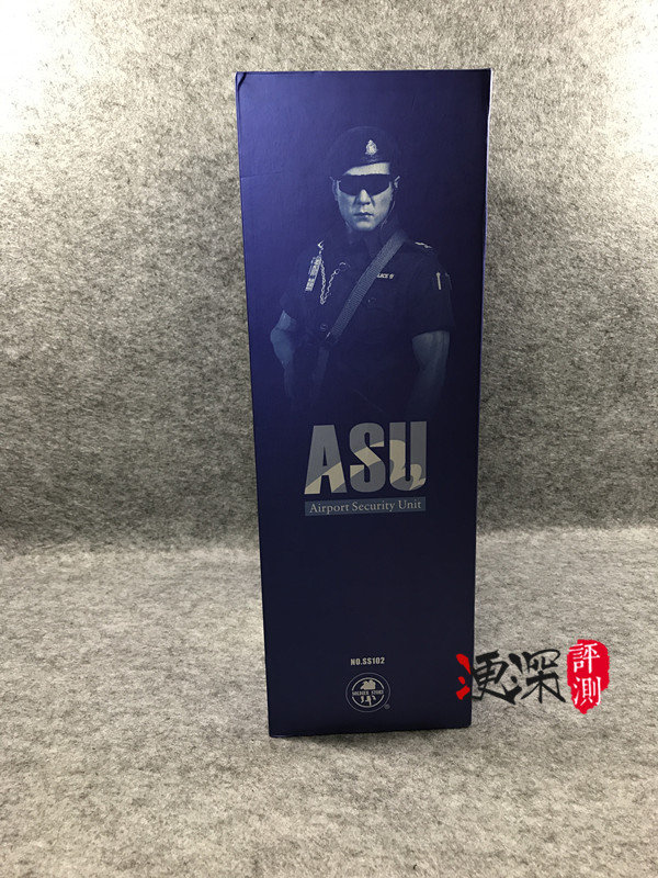 SS(SoldierStory)2017北京会场限定版本 ASU 香港机场特警 (1:6)开箱 简评 二战和现代军事 第3张