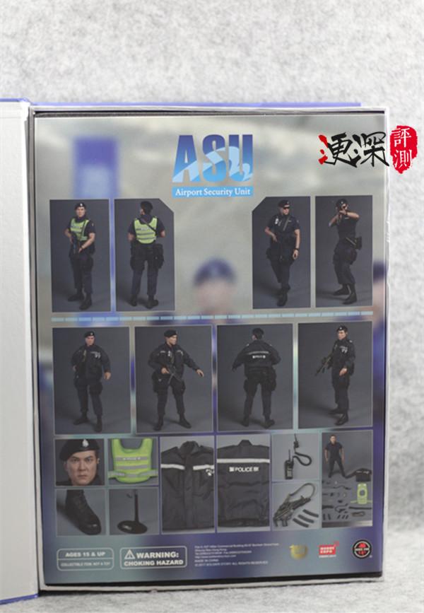 SS(SoldierStory)2017北京会场限定版本 ASU 香港机场特警 (1:6)开箱 简评 二战和现代军事 第5张