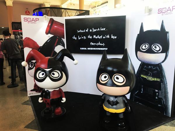 Soap Studio 肥皂游 A Famliy A仔 b.wing 正义联盟 蝙蝠侠,猫女,小丑,小丑女开箱简评