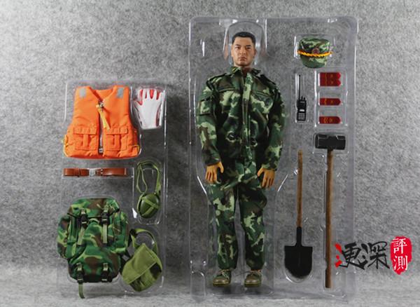 DID 中国英雄 系列 (包含限定卡)汶川9周年 开箱简评 二战和现代军事 第29张