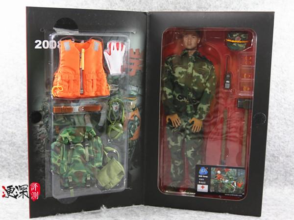 DID 中国英雄 系列 (包含限定卡)汶川9周年 开箱简评 二战和现代军事 第26张