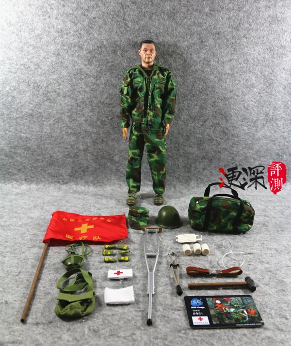 DID 中国英雄 系列 (包含限定卡)汶川9周年 开箱简评 二战和现代军事 第12张